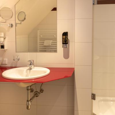 Einzelzimmer Bad