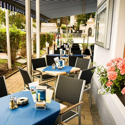 Cafe außen