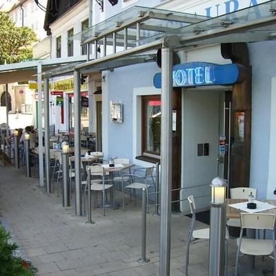 Cafe outside