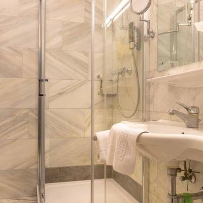 single room shower